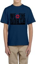 Hera-Boom Boys And Girls Toronto Raptors Basketball WE THE NORTH Skyline T-shirts