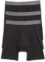 Hanes Men's Luxury Essentials 3-Pack Boxer Briefs