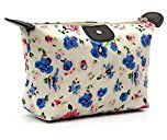 Comestic Bag, Sandistore 1PC Women Travel Make Up Cosmetic Pouch Bag Clutch Handbag Casual Purse (1, Blue)