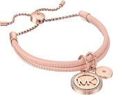 Michael Kors Micro Muse Leather Slider Bracelet Bracelet