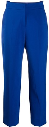 Sjyp Displaced-Waistband Straight Leg Trousers