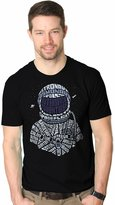 Crazy Dog T-shirts Crazy Dog Thirt Men Atronaut Text Cool Outerpace Planet Rockethip Thirt