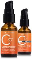 MedPeel 3X Vitamin C Face & Eye Rejuvenation - Set of 2