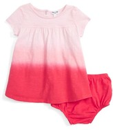 Splendid Infant Girl's Dip Dye Jersey Dress