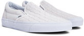 Vans Classic Slip On Suede White