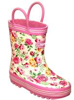 House of Fraser Chipmunks Girls floral wellingtons