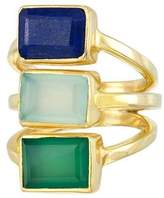 "Mela Artisans Multi-Colored Ring ""Hidden Cay"""