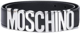 Moschino Logo Wide Belt