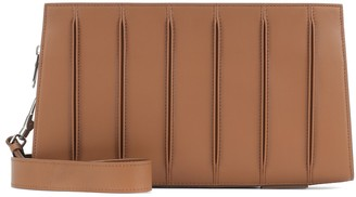 Max Mara Whitney Small leather clutch