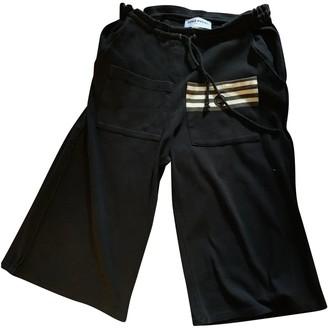 Sonia Rykiel \N Black Cotton Shorts for Women Vintage