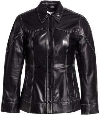 Ganni Lamb Leather Jacket