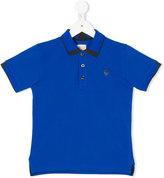 Armani Junior logo polo shirt - kids - Cotton - 4 yrs