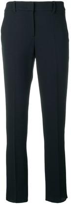 Emporio Armani slim fit tailored trousers