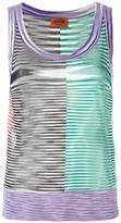 Missoni striped knit tank top - women - Viscose - 42