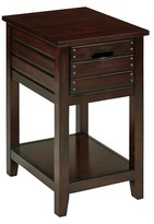 Office Star Camille Chair Side Table Walnut Finish
