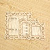 BGNGJ Fasion creative cotton mat/ mat/dining desk mats/Place mat/ clot mat