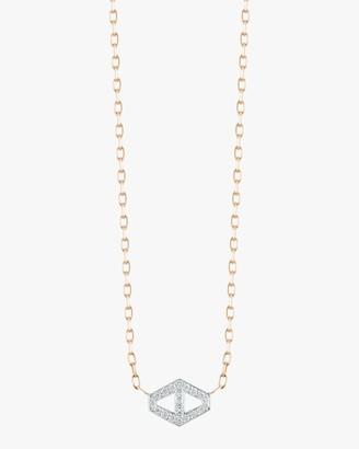 Walters Faith Keynes Diamond Hexagon Necklace