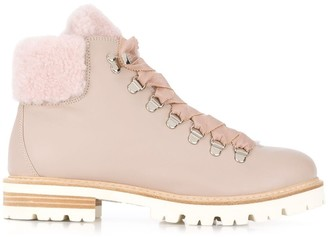 AGL Ankle Lace-Up Boots