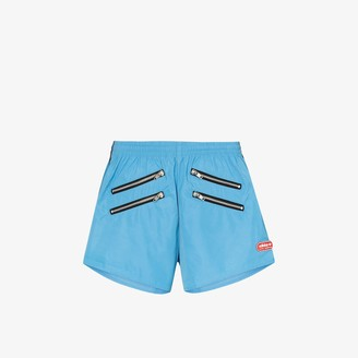 adidas X Lotta Volkova zip detail shorts