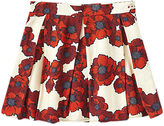 Jigsaw Girls' Floral Print Skirt, Red