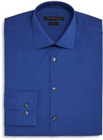 John Varvatos Micro Check Slim Fit Dress Shirt
