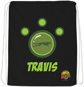 Wild Kratts Backpacks Black - Wild Kratts Green Creature Power Suit Personalized Drawstring Bag