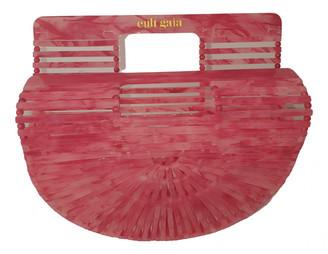 Cult Gaia Acrylic Ark Pink Plastic Clutch bags