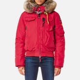 Parajumpers Women's Gobi Masterpiece Coat Dark Red