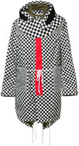 Givenchy checkered hooded parka - men - Polyamide/Viscose - 50