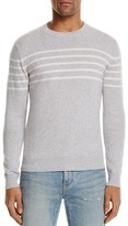 Eleventy Cashmere Stripe Crewneck Sweater