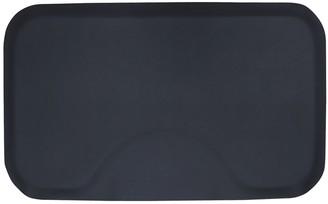 Modern Elements 3 x 5 Black Solid Rectangle Mat