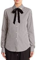 Marc Jacobs Striped Poplin Shirt