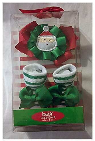 Baby Essentials Headband and Socks by