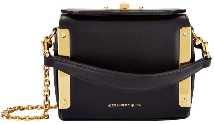 Alexander McQueen Nano Leather Box Bag