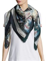 Burberry Henry Moore Cotton Scarf