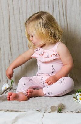 TINY TRIBE Floral Tie Shoulder Jumpsuit
