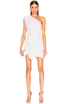 retrofete Ella Dress in Pearl White | FWRD