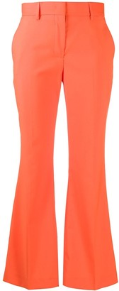 MSGM High-Rise Kick-Flare Trousers