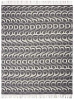 Designers Guild Latticino Graphite Throw - 130x190cm