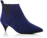 Pierre Hardy Twist Suede Ankle Boots