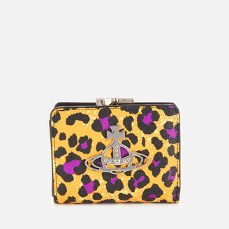 Vivienne Westwood Women's Annie Wallet with Coin Pocket - Yellow