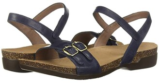 Dansko Rebekah (Tan Waxy Burnished) Women's Sandals