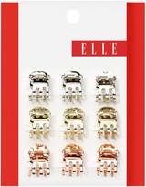 Elle Mini Tri-gold Metal Jaw Clip