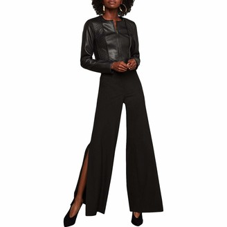 BCBGMAXAZRIA Women's Cooper Wide-Leg Trouser