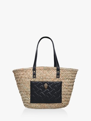 Kurt Geiger Kensington Basket Shopper Bag, Black
