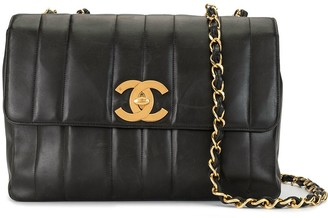 Chanel Pre Owned 1995 Mademoiselle stitch shoulder bag