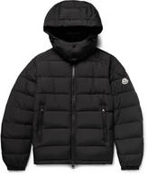 Moncler - Brique Quilted Shell Hooded Down Jacket