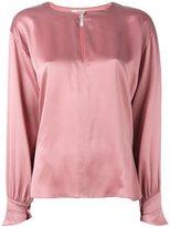 Forte Forte keyhole blouse - women - Silk - 0