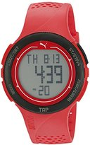 Puma Unisex PU911211002 Touch Digital Display Quartz Red Watch