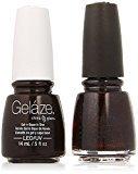 China Glaze Gelaze Tips and Toes Nail Polish, Lubu Heels, 2 Count